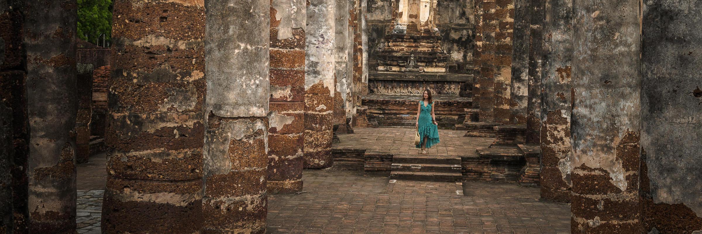 【鹿卡帶你去旅行】旅拍素可泰,探秘泰國最精華的文化所在地