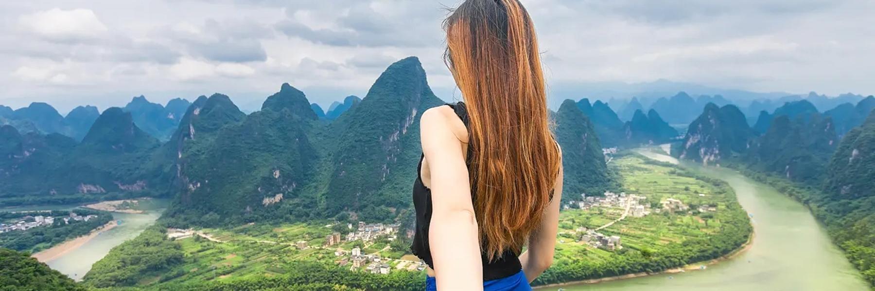 親子游玩轉桂林山水,打卡陽朔最美之地!