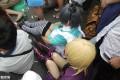 住在成温附近的我表示不想上班了!!上点周日CHINAJOY的美女图,当然少不了楼主本人的