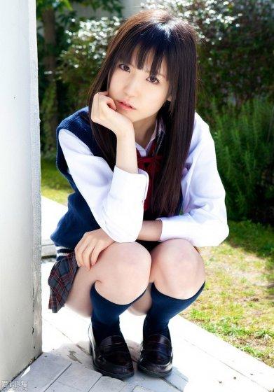 可爱17岁女生自拍照