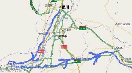 延安到青岛高速地图