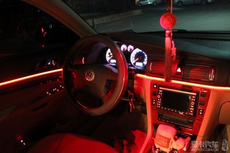 帕萨特领驭加装的车内氛围灯 发上来大家点评一下高清图片