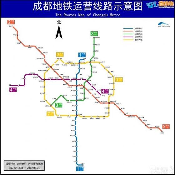 【成都地铁2015年线路图】_爱卡汽车