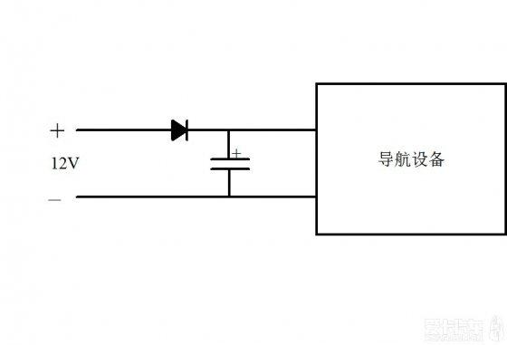 二极管是起隔直作用,即防止电解电容的电流回流到