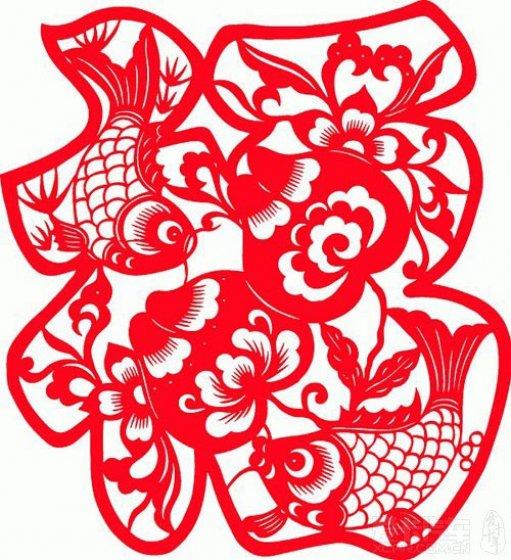 立春葫芦剪纸的步骤