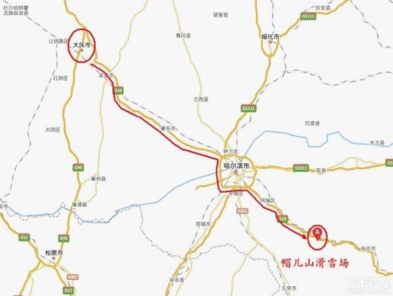 212公里:08:10 哈尔滨北方动物园   245公里:08:30 帽儿山出口交费