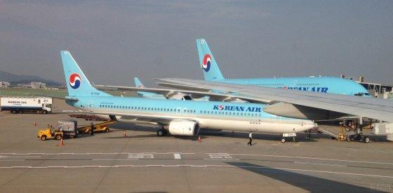 北京到韩国飞机