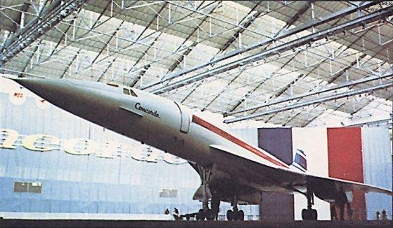 天鹅之歌——纪念协和式超音速客机