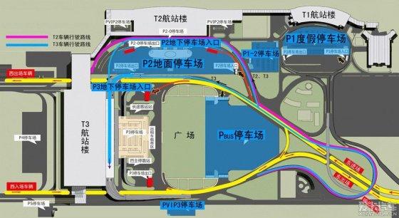西安咸阳机场地面,地下停车场攻略!