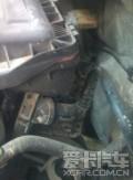 2011款1.6朗逸空气滤侧漏,才发现的-有图