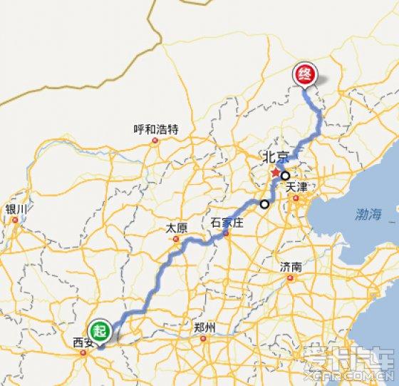 d8,早饭后出发,与来时路线相同,经山西进入韩城,下午5点到达渭南东