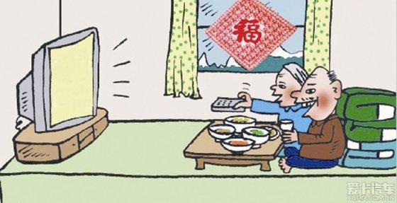 喜鵲造房子卡通