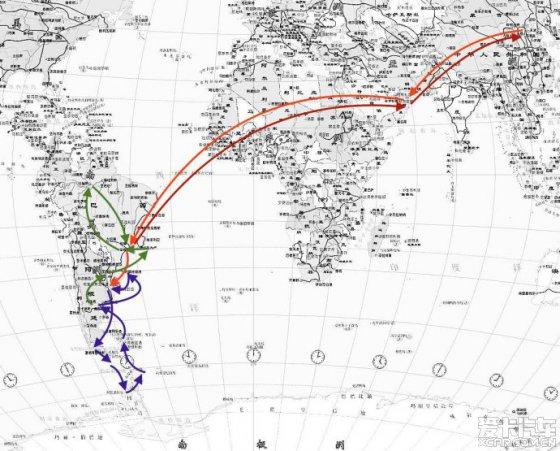 巴西里约旅游地图