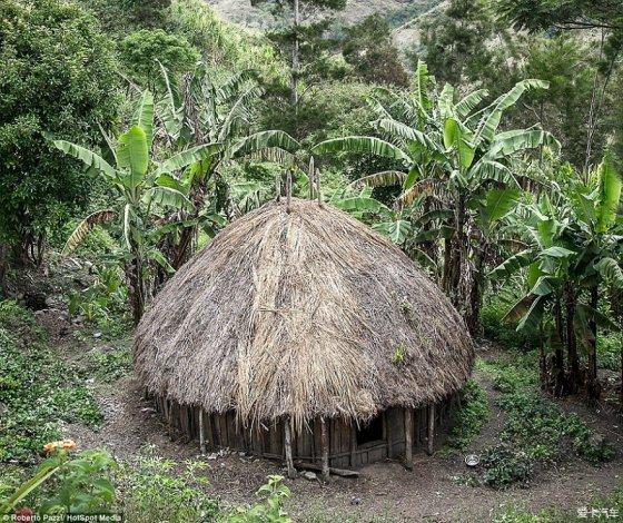 罗伯特表示,自己拿着香烟与糖果准备换取他在该部落的衣食住行.