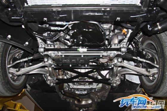 这种结构,在传统的前驱车的麦弗逊下支臂上可以说常常见到.