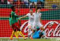 王珊珊连场破门中国1-0喀麦隆晋级女足世界杯八强
