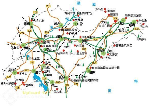 临沂交通地图