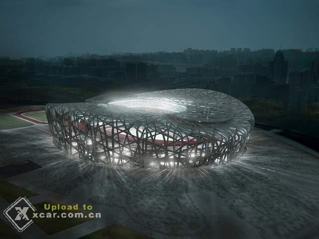 先睹为快 北京2008奥运运动场效果图