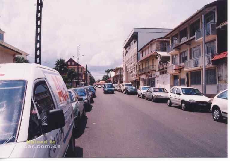 美洲 法属圭亚那首府 卡宴市 - 西部落叶 - 《西部落叶》· 余文博客