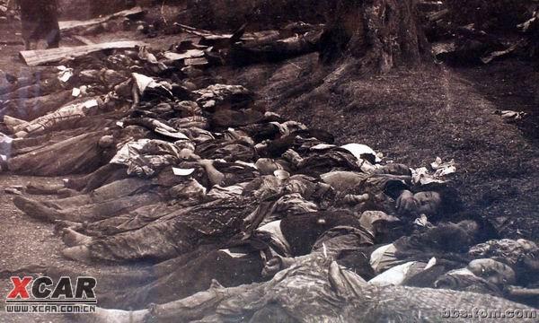 原子弹轰炸后的日本