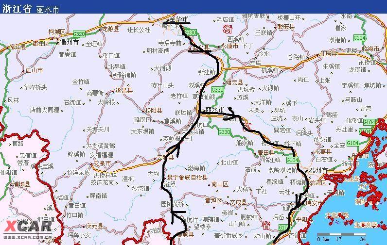 异水……浙江金华-福建