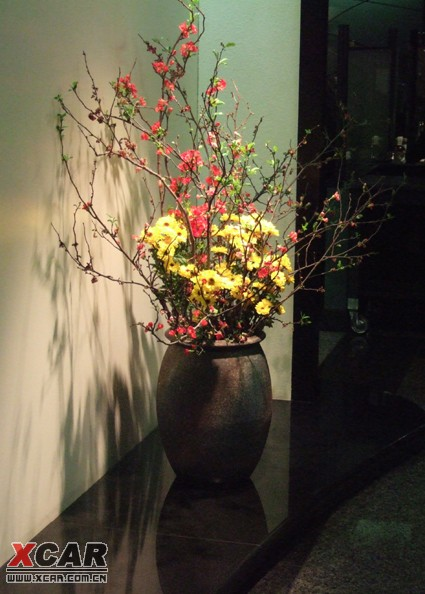 日本花店装修效果图