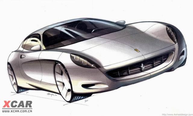 汽车设计精美手绘图大全系列精华