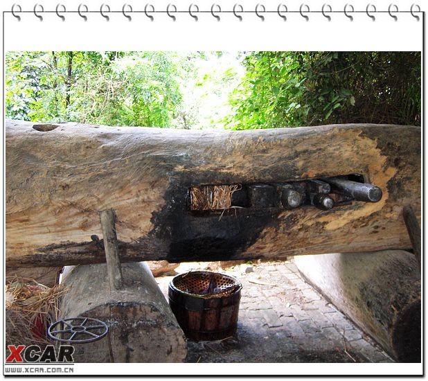 发表于 2006-06-15 09:22  130楼  这块大木头就是古老的榨油机.