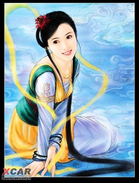 中国古代美女与才女图文!