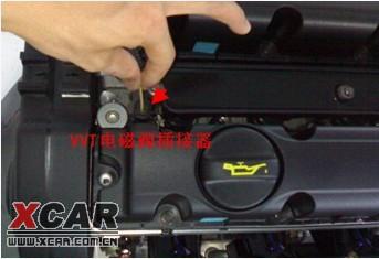 车南v54a91发动机vvt电磁阀图片展示图片