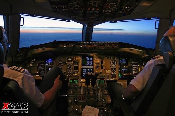 【精华】漂亮的飞机驾驶舱!