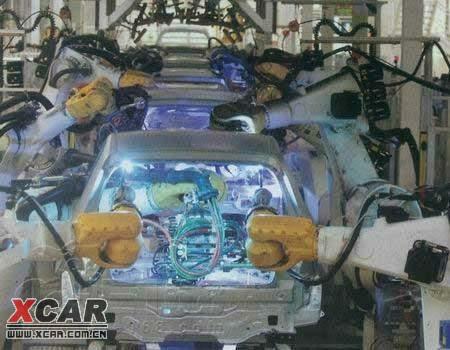 从结构到工艺 速腾花冠车身安全比较