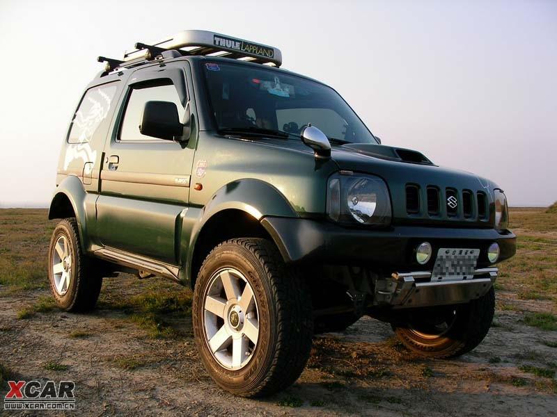 小型SUV新贵 铃木超级维特拉 吉姆尼高清图片
