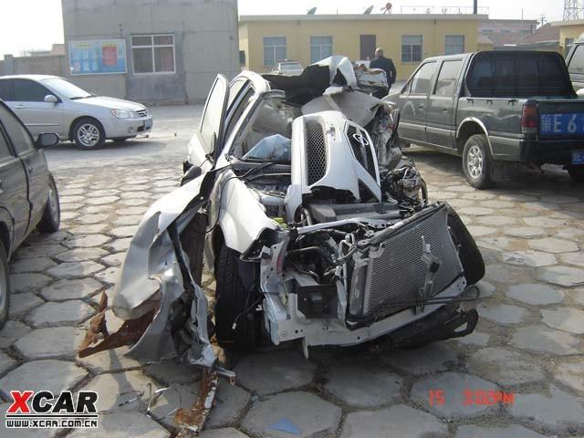 福美莱迄今为止最惨烈的车祸 高清图片