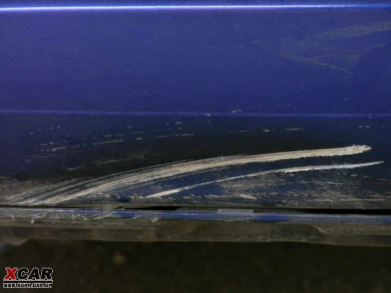 雨燕整车喷漆和封釉简单作业 9高清图片