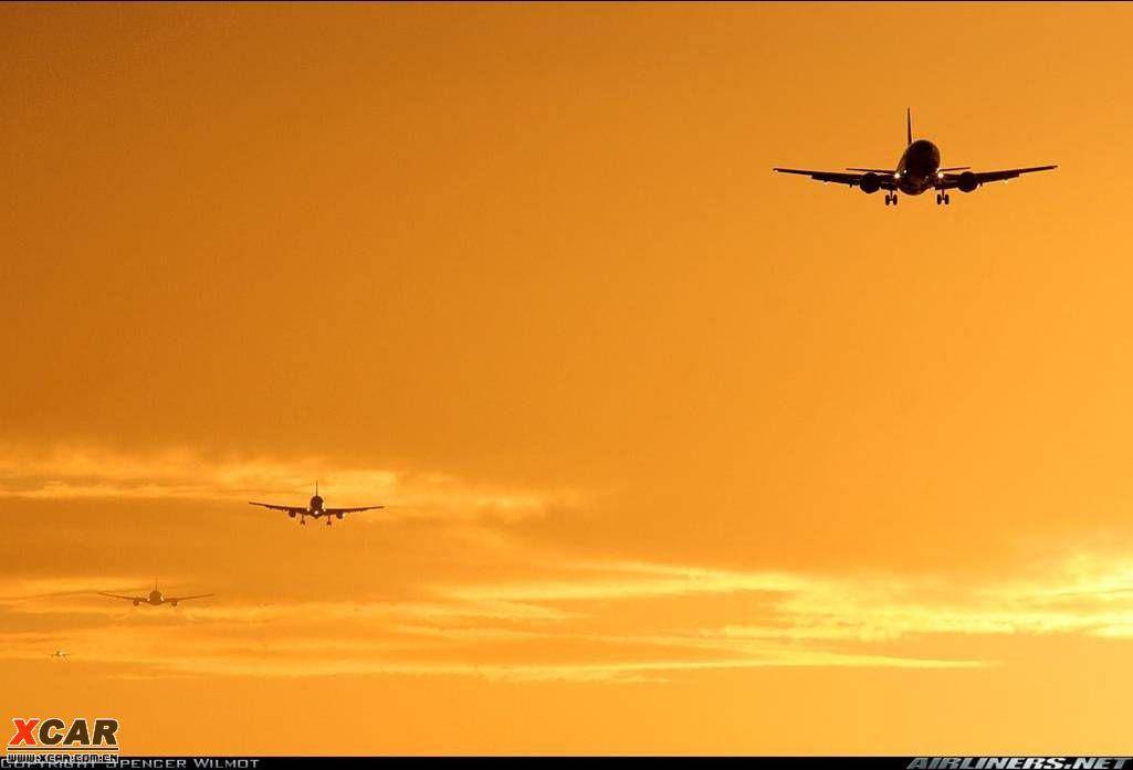一组唯美的飞机图片,震撼你的眼球!(申精)