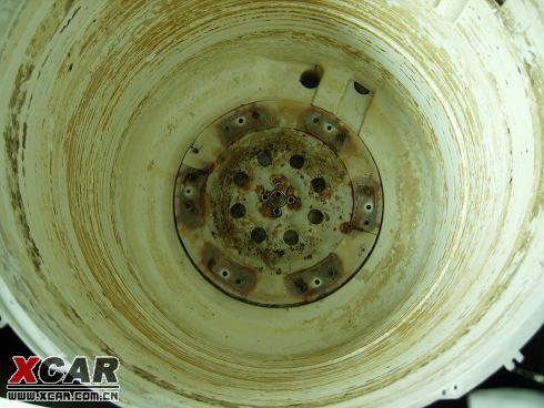 【图】全自动洗衣机内桶拆下来后的照片(震惊)