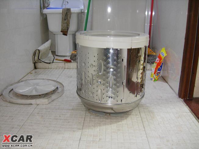 全自动洗衣机内桶拆下来后的照片(震惊)(35楼有清洗
