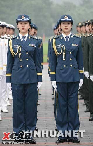 服   07式新军换装为每个女军人 女士兵春秋常服   这是女军官夏图片