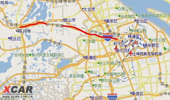 上海至苏州西山自驾路书