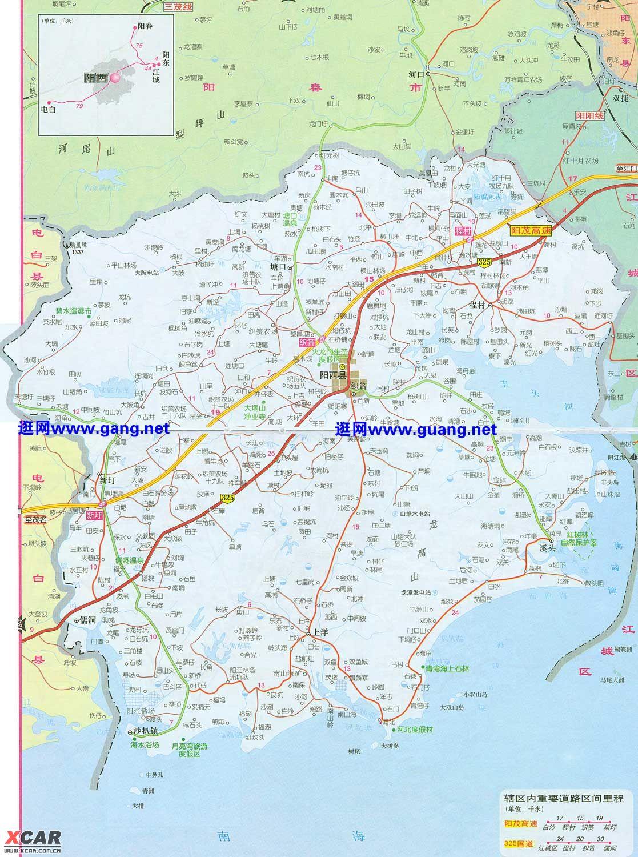 广东海陵岛闸坡地图
