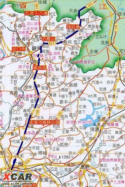 吉安市高速公路地图
