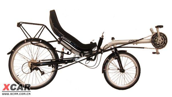 躺着骑的自行车