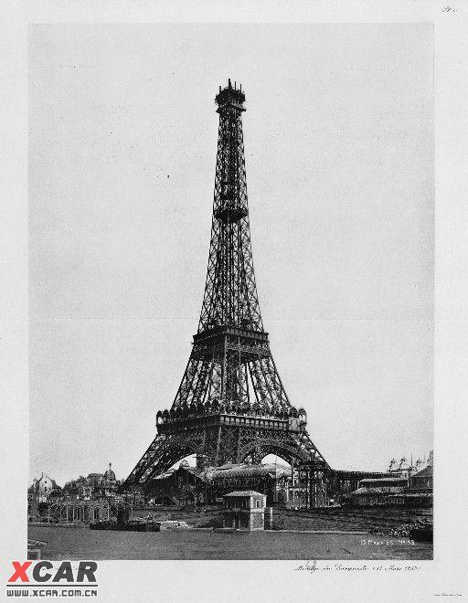 埃菲尔铁塔的建造步骤