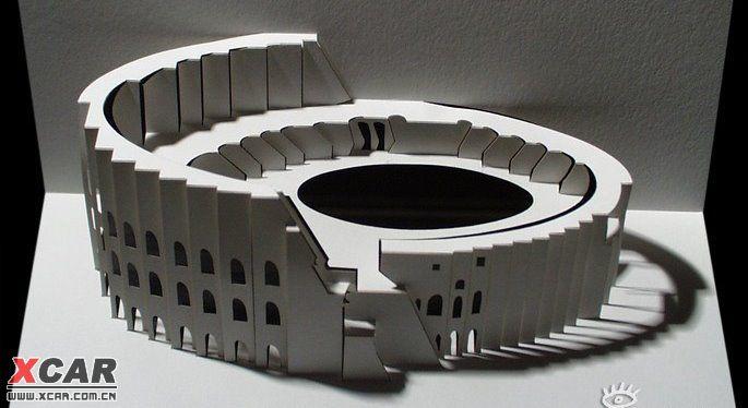 开合式立体纸雕贺卡设计作品欣赏!精细的手工让人惊叹!