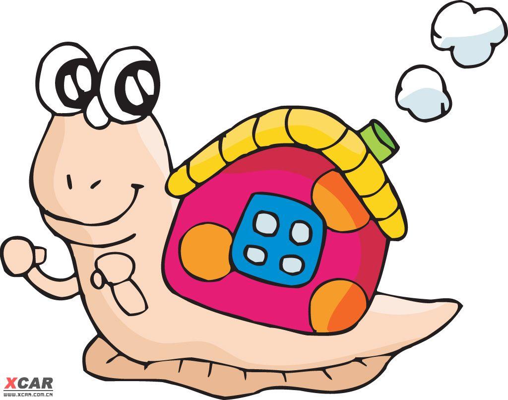 收集动物的卡通图片,给宝宝画画用