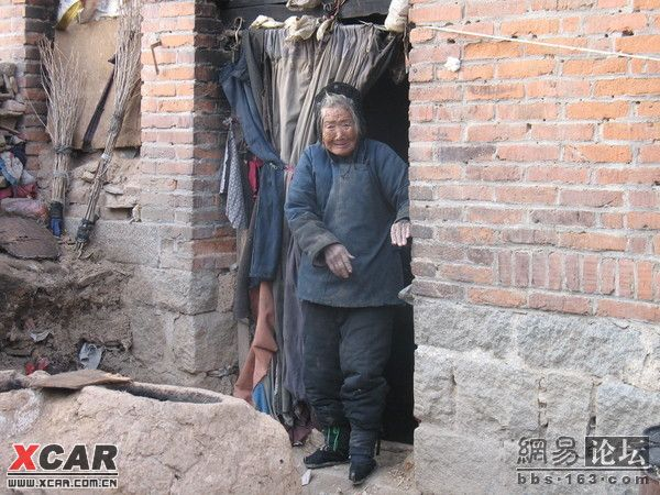 凄凉! 一位农村老人的生活照