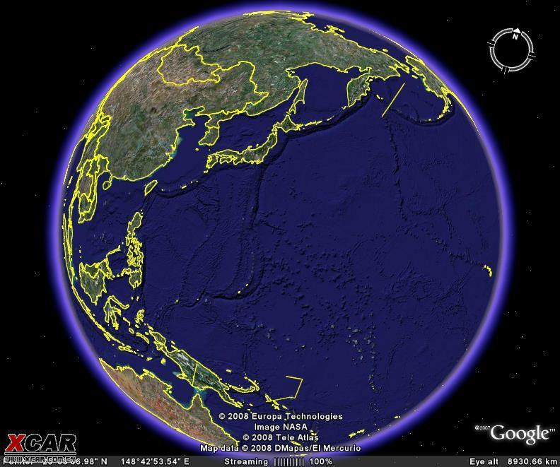 我仔细看了下 地震带是从阿拉斯加的美洲西海岸开始,顺着白令海的海底山脉,俄罗斯的堪察加半岛,整个日本(日本就是一个海底山脉的几个高峰)开始分叉,一条小叉是日本往南到玛丽亚娜海沟、塞班岛的方向,主脉是沿着海底山脉走向台湾、菲律宾,印尼再转西南,沿着巴布亚新几内亚、所罗门群岛、瓦努阿图等串起太平洋上一众岛国,抵达新西兰 从这个图大概可以看到海底的山脉,大多的地震带都集中在那里