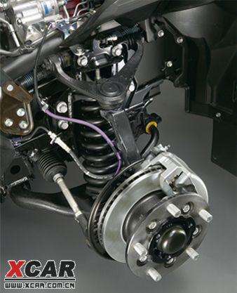 拉杆刹结构图