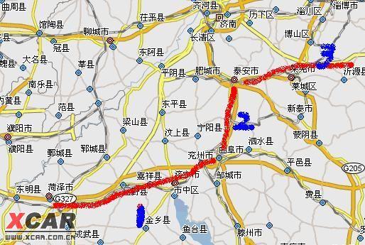 宁阳到青岛四方区地图